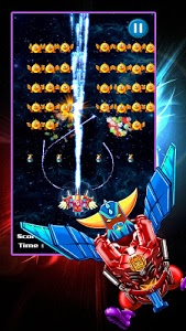 screenshot of Chicken Shooter: Space Defense version 1.1