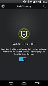 screenshot of Chili Android Security version v1.0