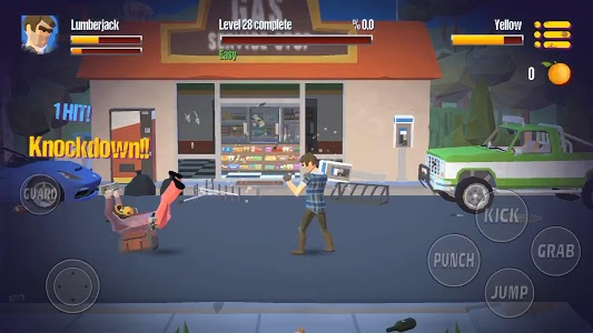 screenshot of City Fighter vs Street Gang version 2.0.4