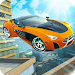City Rooftop Stunt Car Racing Ramps