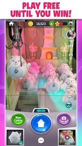 screenshot of Clawee - A Real Claw Machine version 4.6.1.414.0