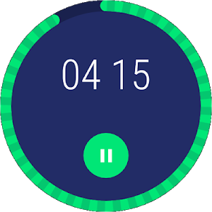 screenshot of Clock version Varies with device