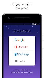 screenshot of Newton Mail - Email App for Gmail, Outlook, IMAP version 10.0.25