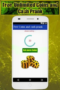 screenshot of Coins and Cash for 8 ball Pool Prank : unlimited version 1.0