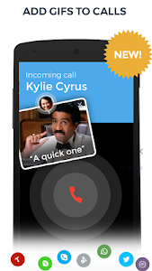 screenshot of Contacts, Phone Dialer & Caller ID: drupe version 3.044.00014-Rel