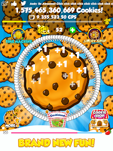 screenshot of Cookie Clickers 2 version 1.7.1