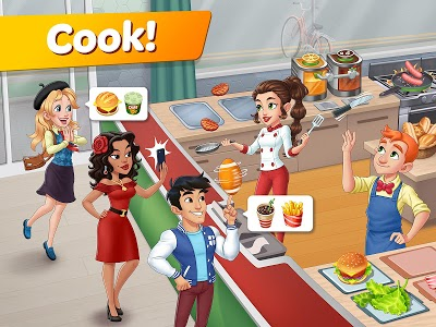 screenshot of Cooking Diary®: Best Tasty Restaurant & Cafe Game version 1.21.0