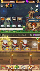 screenshot of Cooking Quest : Food Wagon Adventure version 1.0.19