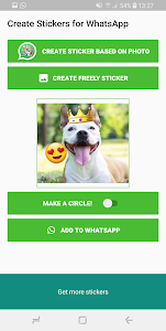 screenshot of Create Stickers for WhatsApp version 1.951