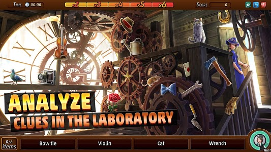 screenshot of Criminal Case: Mysteries of the Past version 2.32