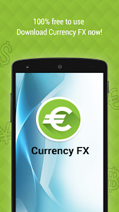 screenshot of Currency FX Exchange Rates version 1.7.5