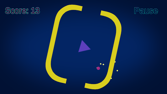 screenshot of Curved Pong version 1.1