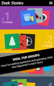 screenshot of Dark Stories version 1.0.56
