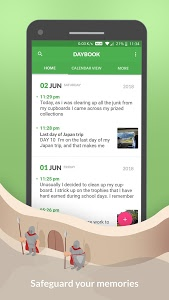 screenshot of Daybook - Diary, Journal, Note version 5.12.0