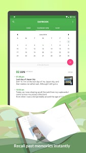 screenshot of Daybook - Diary, Journal, Note version 4.7.31