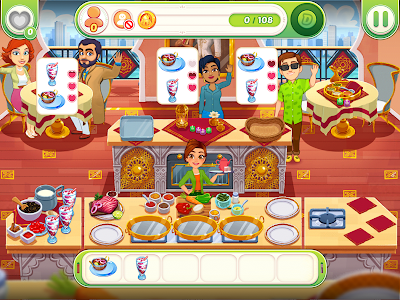screenshot of Delicious World - Romantic Cooking Game version 1.10.1