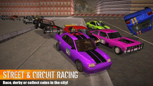 screenshot of Demolition Derby 3 version 1.0.022