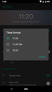screenshot of Digital Clock Widget version 3.0.2