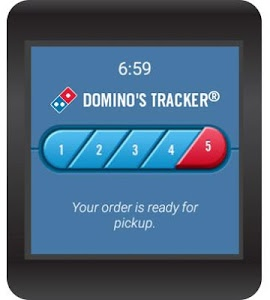 screenshot of Domino's Pizza USA version 3.0.0