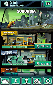 screenshot of Doomsday Clicker version 1.5.4