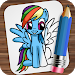 Drawing Little Pony