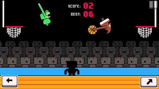 screenshot of Dunkers - Basketball Madness version 1.2.8