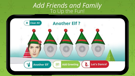 screenshot of ElfYourself® By Office Depot version 7.2.0