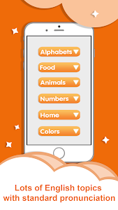 screenshot of English for Kids - Kids Games version 2.2.2