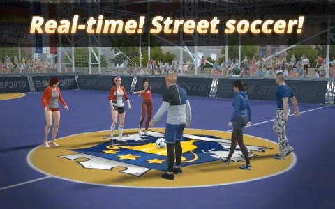 screenshot of Extreme Football:3on3 Multiplayer Soccer version Varies with device