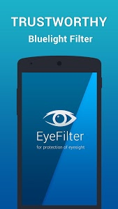 screenshot of EyeFilter - Bluelight version 2.2.4