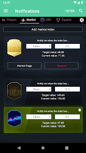 screenshot of FUT 19 Draft, Squad Builder & SBC - FUTBIN version 6.21