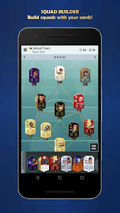 screenshot of FUT Card Builder 20 version 5.3.9