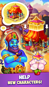 screenshot of Fancy Blast: Puzzle in Fairy Tales version 2.1.0