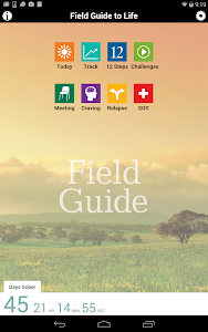 screenshot of Field Guide to Life version 2.0.7