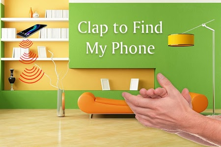 screenshot of Find phone by clapping version 1.7