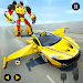 Download Flying Car Robot Shooting: Taxi Car Transformation 1.0.1 APK