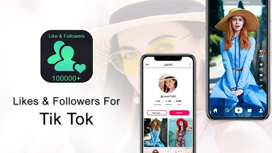 screenshot of Followers & Likes For tik tok Free version 1.2