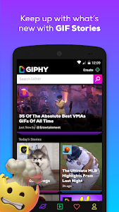 screenshot of GIPHY - Animated GIFs Search Engine version 3.8.6