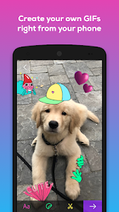 screenshot of GIPHY - Animated GIFs Search Engine version 3.5.3