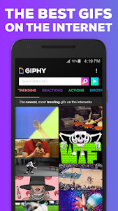 screenshot of GIPHY. All the GIFS version 2.2.0-development-dd24237-74