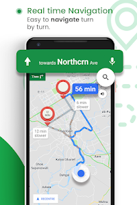 screenshot of GPS Route Finder : Maps Navigation and Directions version 2.0.44