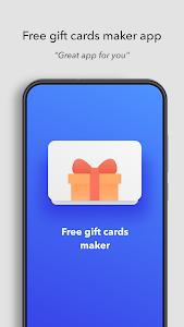 screenshot of Gift Cards Maker - Get Free Coupons version 1.2