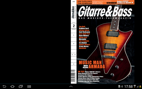 screenshot of Gitarre & Bass version 3.02