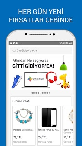 screenshot of GittiGidiyor version 3.24.1