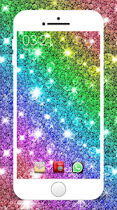 screenshot of Glitter Wallpapers version 1.1