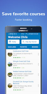 screenshot of GolfNow: Tee Time Deals at Golf Courses, Golf GPS version Varies with device