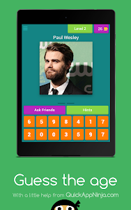 screenshot of Guess The Age version 3.3.9z