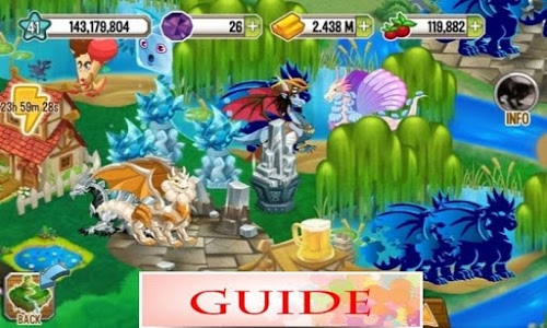 screenshot of Guide for Dragon City version 2.0