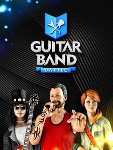 screenshot of Guitar Band Battle version 1.6.0