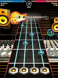 screenshot of Guitar Band Battle version 1.4.9.5